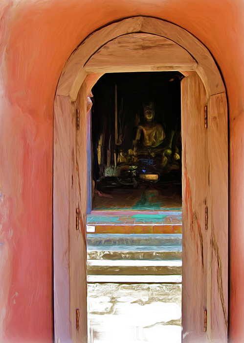 Doorway to Enlightenment by Bates Clark